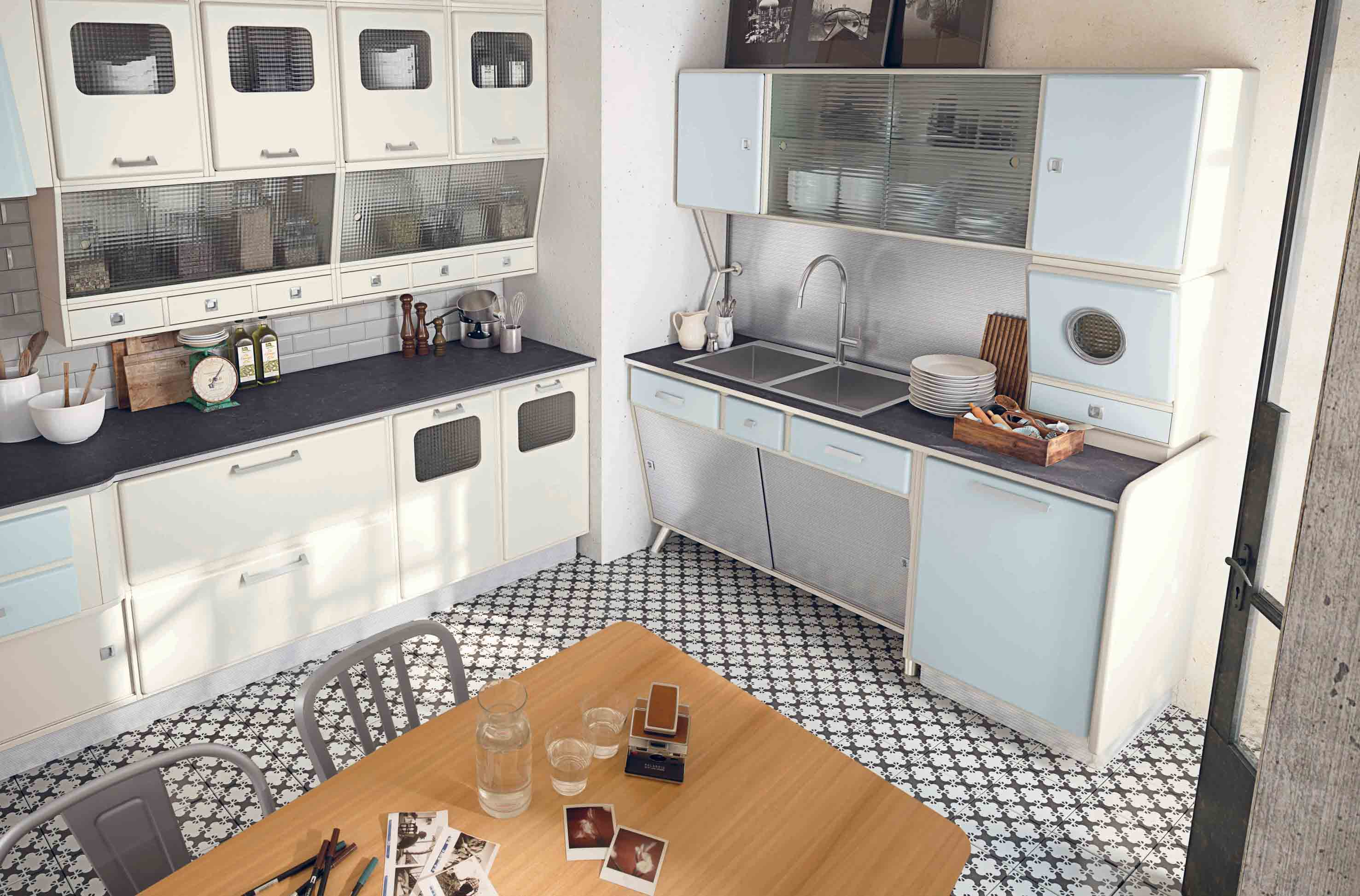 Marchi Cucine Goes Retro With St Louis   Saint Louis Kitchen