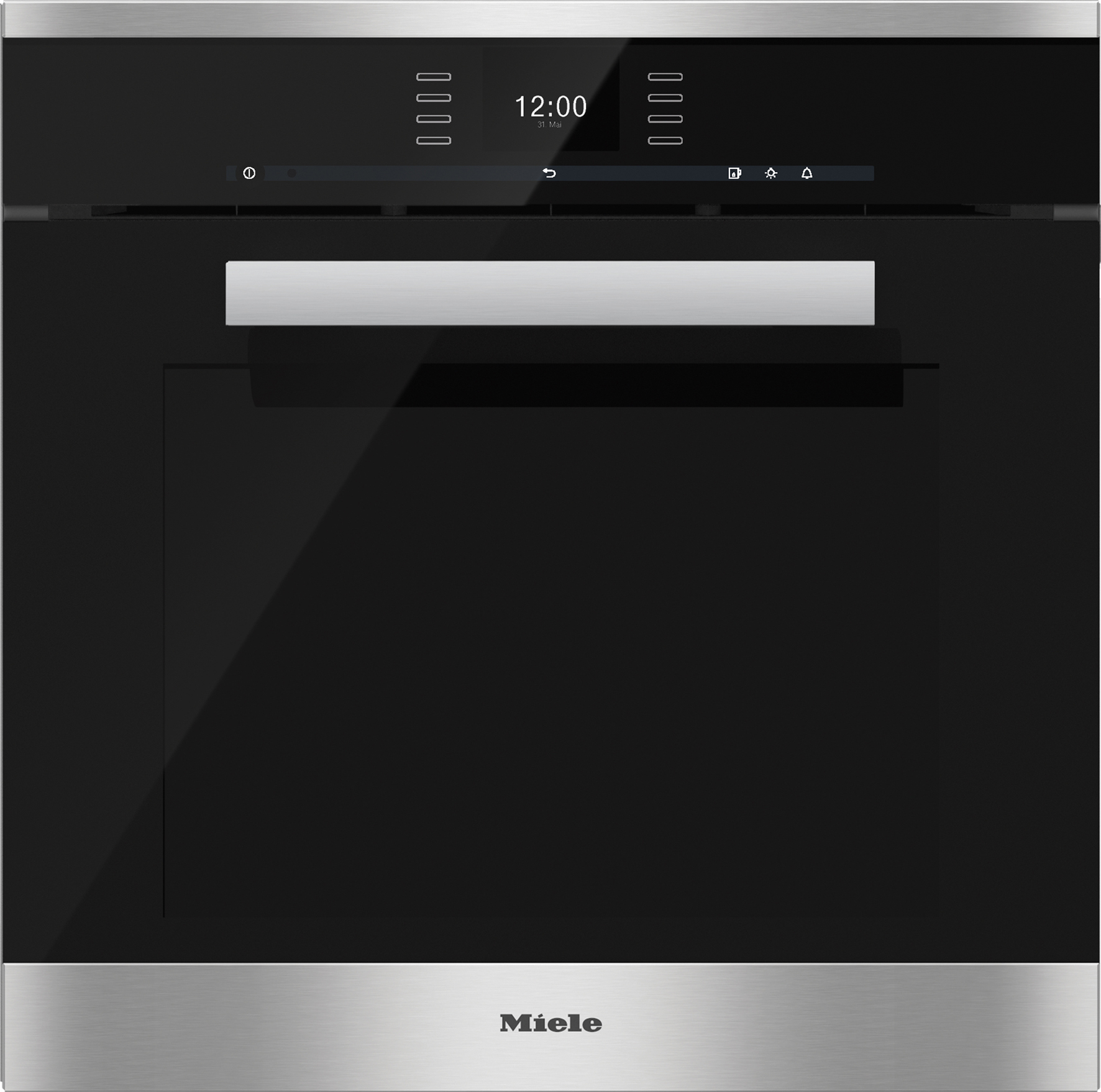 new miele dgc 6660 xxl steam combi oven the kitchen and bathroom blog. Black Bedroom Furniture Sets. Home Design Ideas