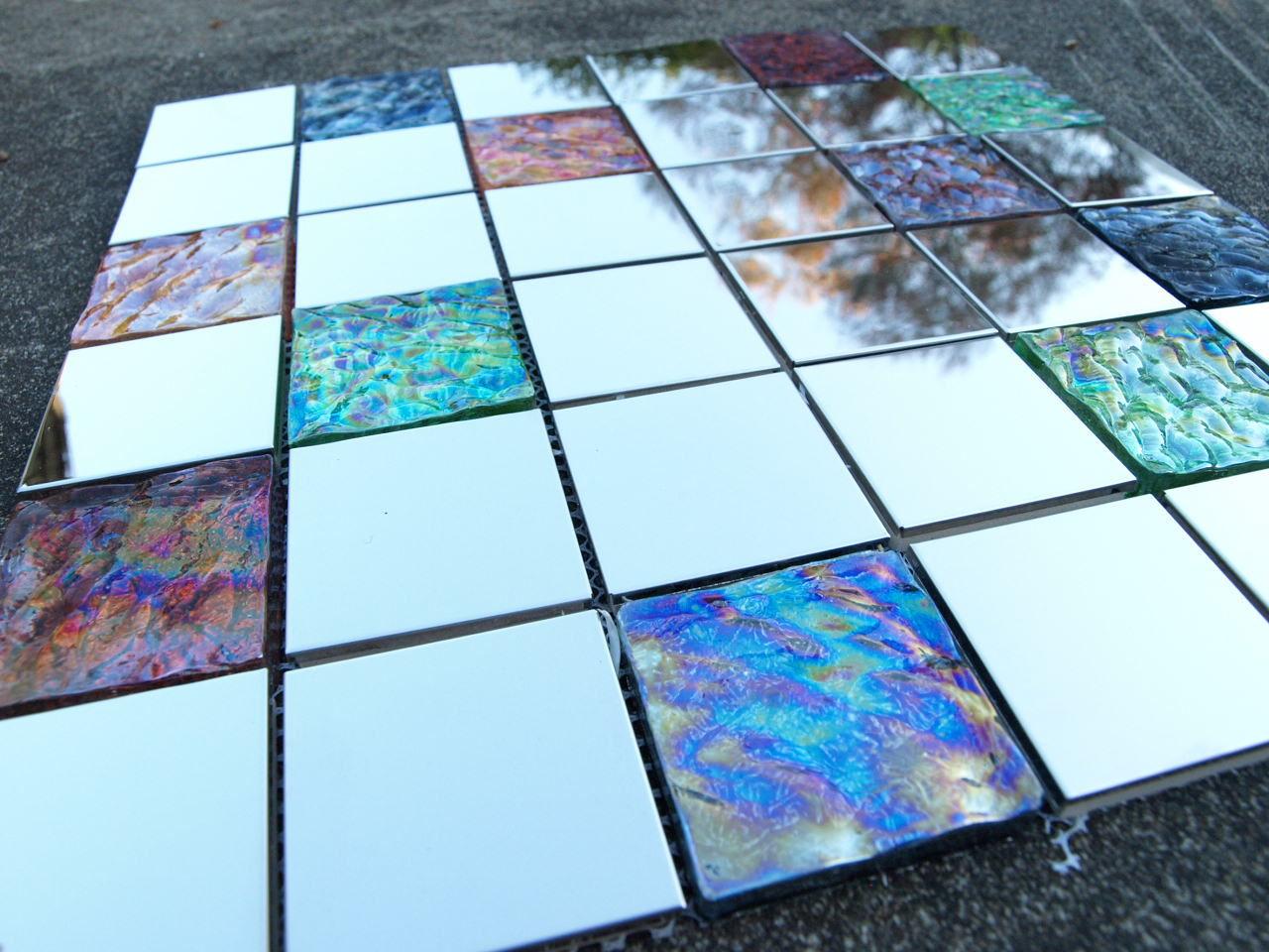 Custom made mosaic tiles for Unique mosaic tile