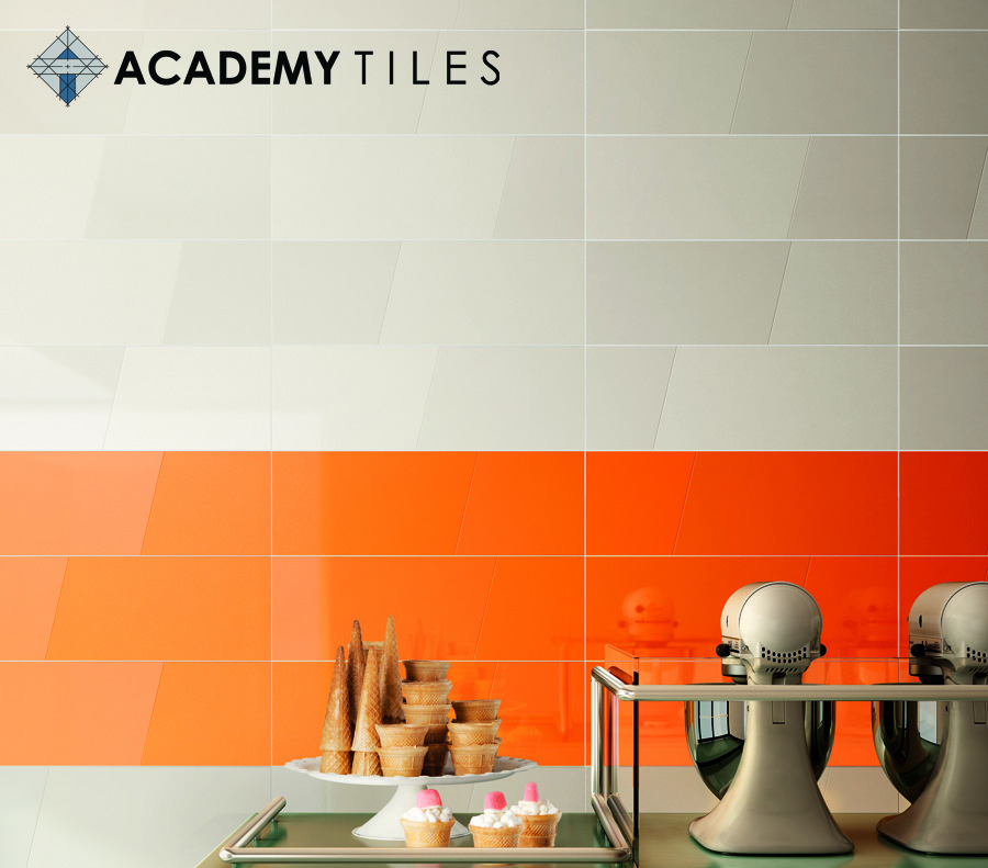 Inverse wall tiles from Academy Tiles |