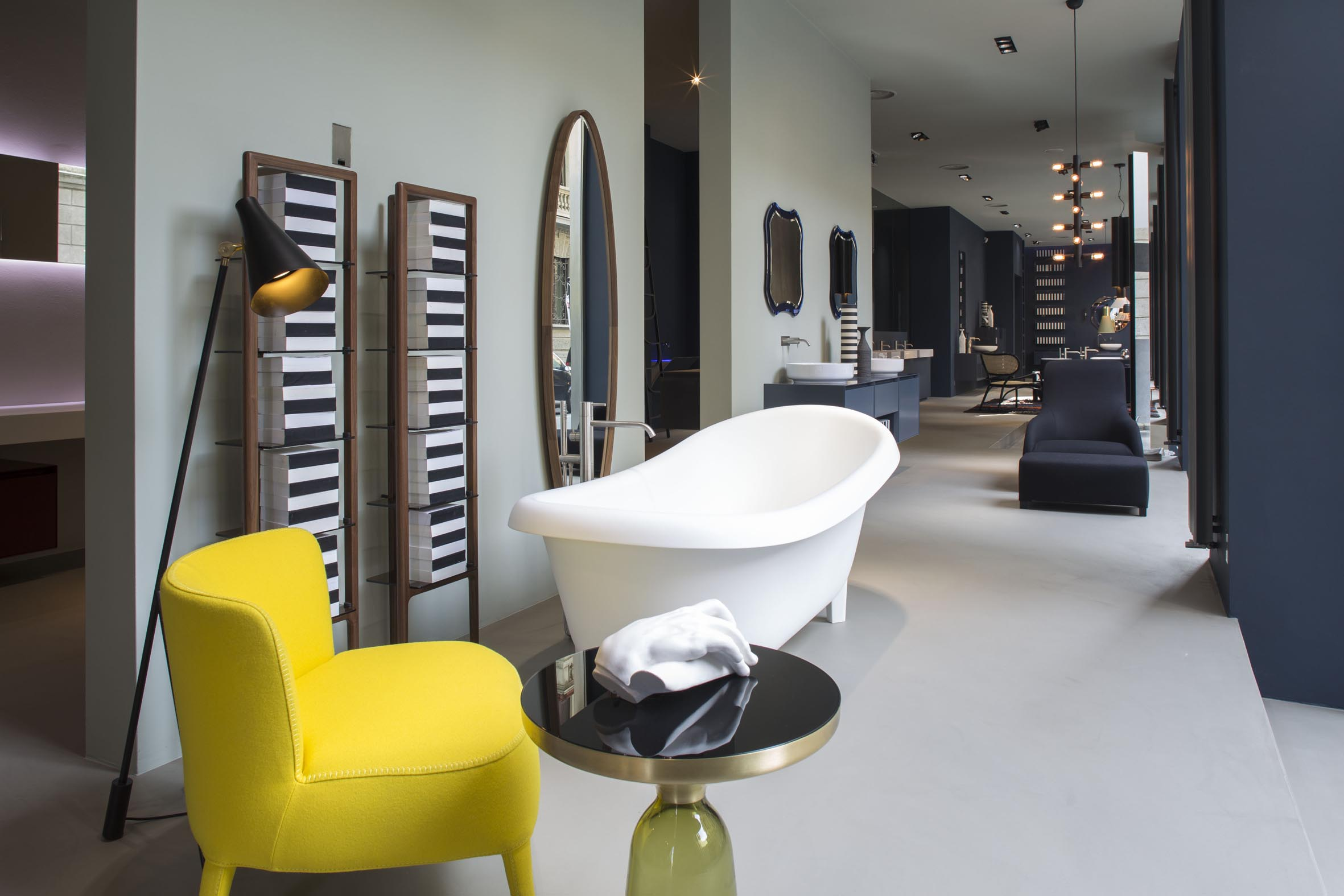 antonio lupi restyled milan showroom. Black Bedroom Furniture Sets. Home Design Ideas