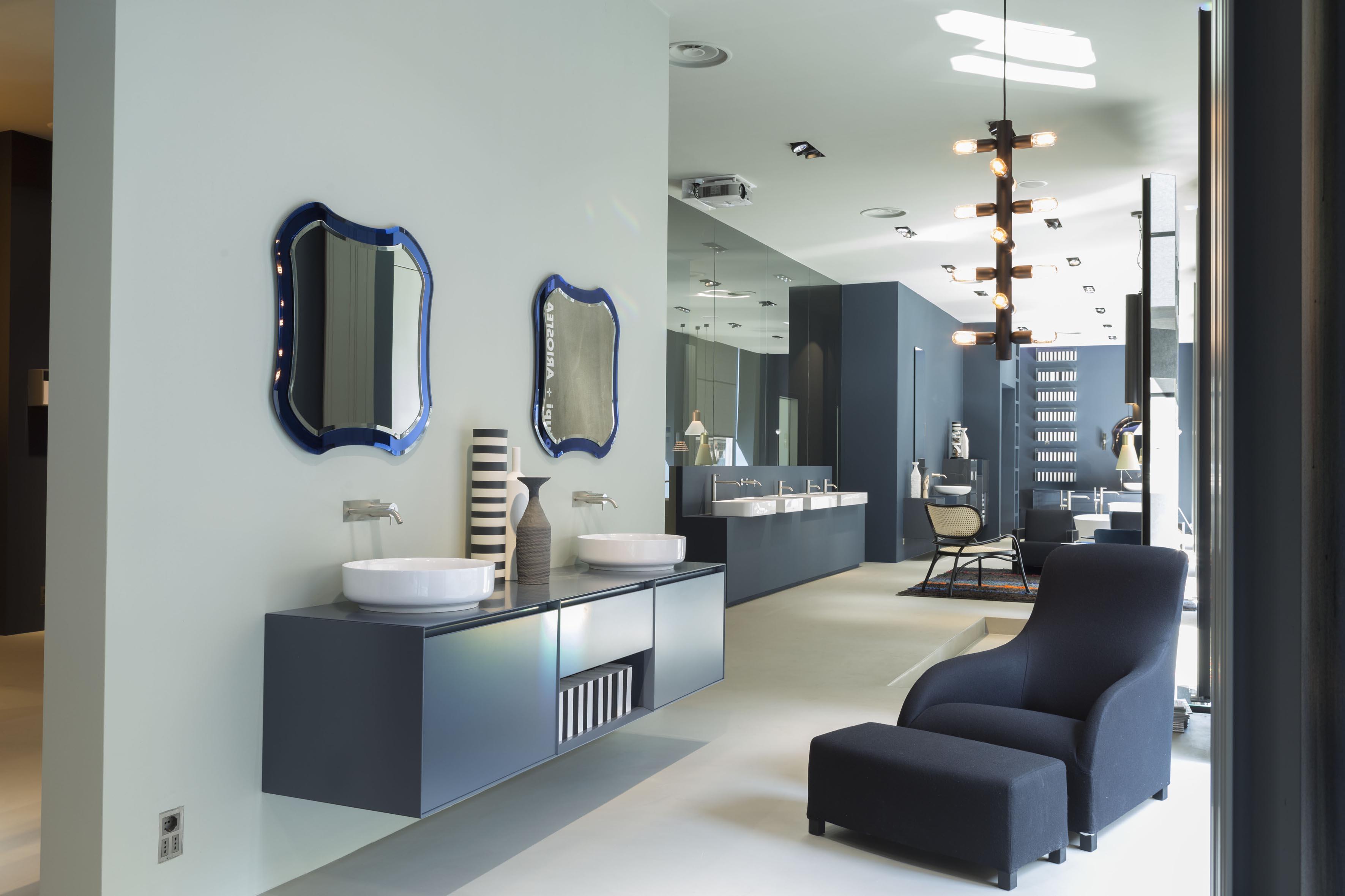 Antonio lupi restyled milan showroom for Showroom bagni milano