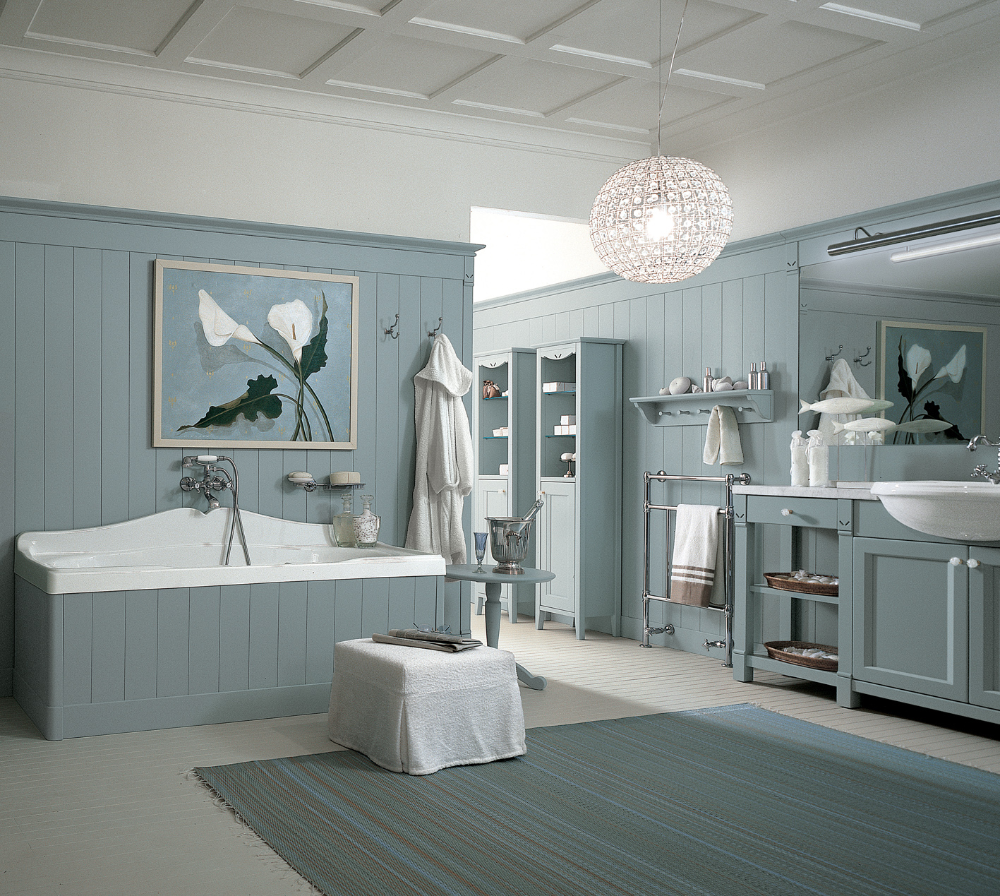 English Mood - bathroom by Minacciolo - The Kitchen and Bathroom Blog